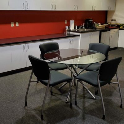 The Kitchen Area in The Green Room - Photo by Danny Zeff